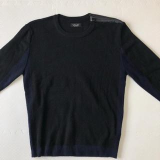 ザラ(ZARA)のZARA ニット メンズ 黒(ニット/セーター)