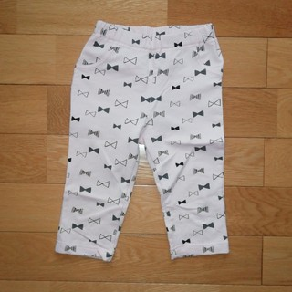 95cm  リボン柄ズボン(パンツ/スパッツ)