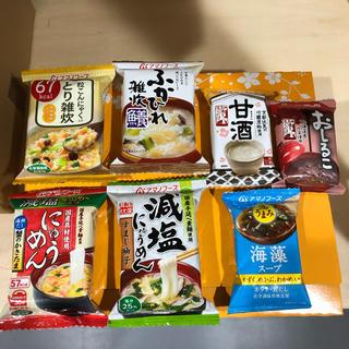 アマノフーズ  雑炊 にゅうめん  スープ(インスタント食品)