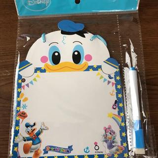 ディズニー(Disney)のドナルドダイカットメッセージボード(インテリア雑貨)