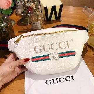 グッチ(Gucci)のGUCCI  ウエストポーチ  ホワイト(ウエストポーチ)
