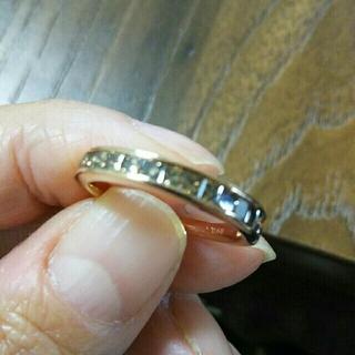 おむすび様専用チョコレートブラウンダイヤミステリーセッテリーングリング(リング(指輪))