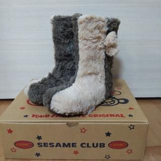 セサミクラブ(SESAMI CLUB)のSESAMI CLUB   ブーツ 17㎝(ブーツ)