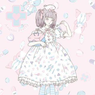 アンジェリックプリティー(Angelic Pretty)のangelic pretty fancy hospital(ひざ丈ワンピース)