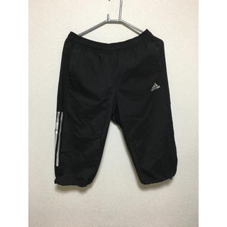 アディダス(adidas)のadidas アディダス ハーフパンツ Lサイズ climacool 黒(ウェア)