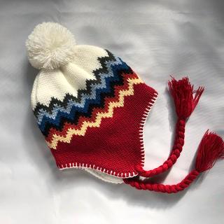 ニューヨークハット(NEW YORK HAT)のフリース帽子 耳当て付き(ニット帽/ビーニー)