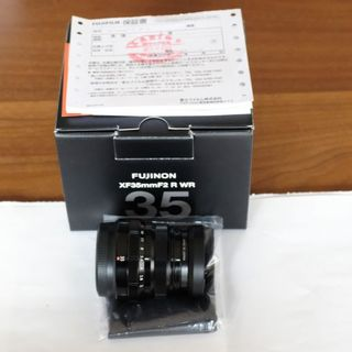 フジフイルム(富士フイルム)の☆FUJINON X35mm F2R WR(中古美品)☆(レンズ(単焦点))