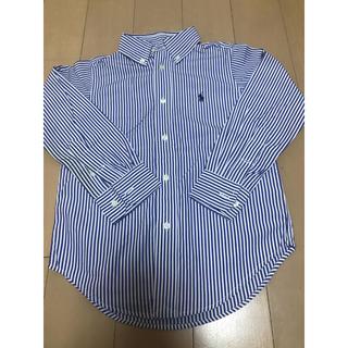 Ralph Lauren - ラルフローレン 110㎝ 男の子用 長袖シャツ ボタンダウンシャツ 送料無料