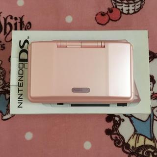ニンテンドーDS(ニンテンドーDS)のニンテンドーDS ピンク(携帯用ゲーム本体)