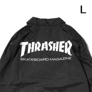 THRASHER - 【L】THRASHER スラッシャー MAG コーチジャケット 黒