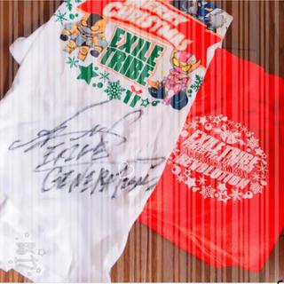 エグザイル(EXILE)の激レア 白濱亜嵐 サイン Tシャツ(ミュージシャン)