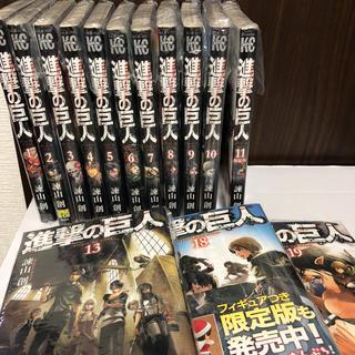 コウダンシャ(講談社)の進撃の巨人 漫画 1-11 13 18 19 14冊セット(少年漫画)