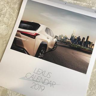 送料込 レクサス LEXUS カレンダー 壁掛け 2019(その他)