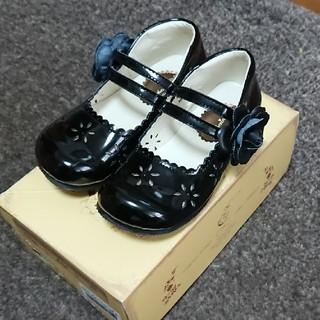 フォーマルキッズ靴黒19.0センチ(フォーマルシューズ)