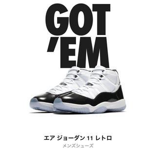 ナイキ(NIKE)の Nike Air Jordan 11 concord 29cm(スニーカー)