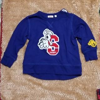 スヌーピー(SNOOPY)のスヌーピー薄手トレーナー(Tシャツ/カットソー)