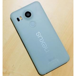 ソフトバンク Nexus 5X グリーン  16G(スマートフォン本体)