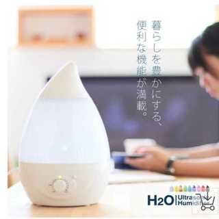 乾燥の季節に!超音波式加湿器★アロマ機能LEDライト付き!(加湿器/除湿機)