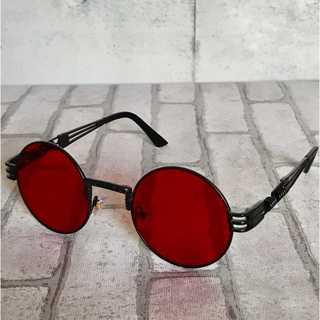 Antique Sunglasses red サングラス 赤(サングラス/メガネ)