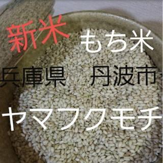 平成30年度兵庫県丹波産 無農薬もち米2キロ