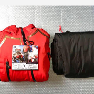 ダイワ(DAIWA)のイージスオーシャン防水防寒スーツストレッチ(上下組) サイズ:L(ウエア)