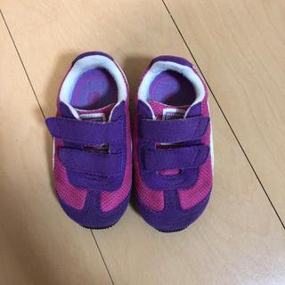 プーマ(PUMA)のプーマ 靴 12㎝ 子供用 ピンク スニーカー(スニーカー)
