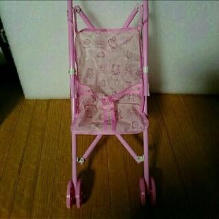 お人形 ベビーカー ピンク(ぬいぐるみ/人形)