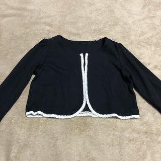 キャサリンコテージ(Catherine Cottage)のキャサリンコテージ 黒 ボレロ 120(ドレス/フォーマル)