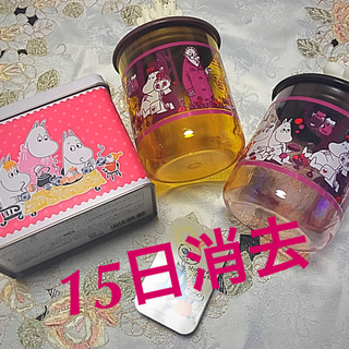 ムーミン空ボトル空き缶セット♥️