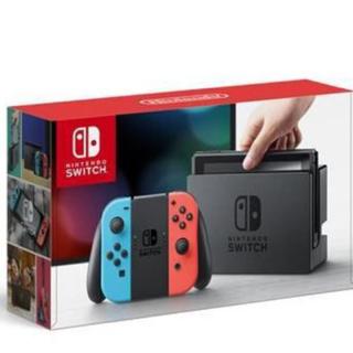 ニンテンドースイッチ(Nintendo Switch)の【あき様専用】Nintendo Switch ネオン×56(家庭用ゲーム本体)