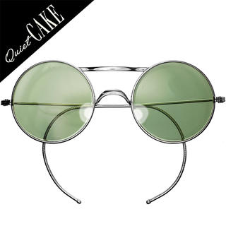 美品!50s USA ビンテージ 大 丸眼鏡 サングラス アメリカンオプティカル(サングラス/メガネ)