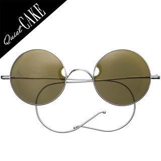 未使用美品!30s ヴィンテージ WILLSON USA 丸眼鏡 サングラス (サングラス/メガネ)