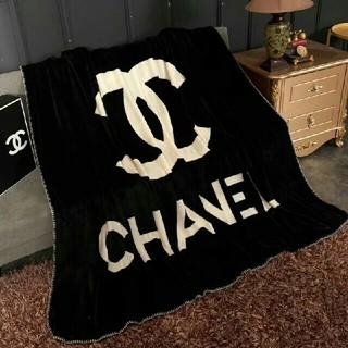 シャネル(CHANEL)のCHANEL 新品 ひざ掛け 毛布 寝具(毛布)