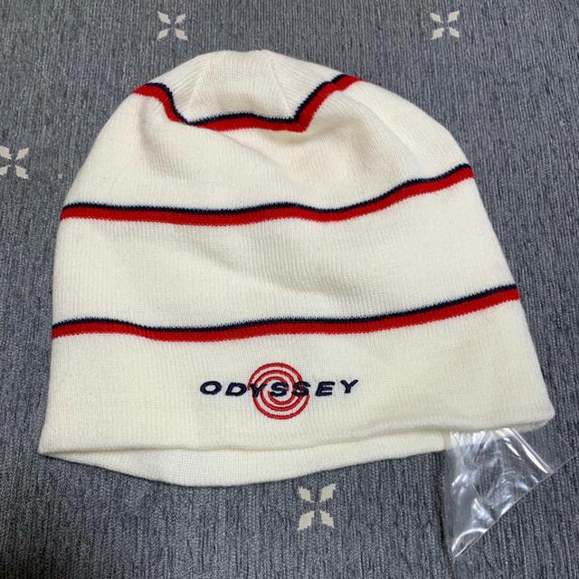 Callaway Golf(キャロウェイゴルフ)のcallway★ニット帽 レディースの帽子(ニット帽/ビーニー)の商品写真
