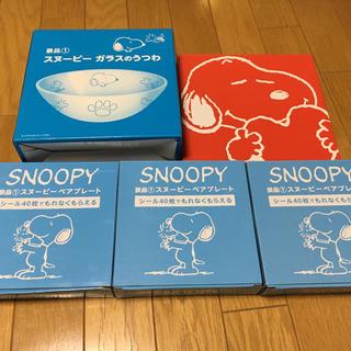 スヌーピー(SNOOPY)のローソン  スヌーピーグッズ(食器)