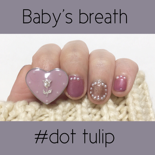 ♥ original ring ♥ dot tulip
