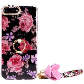 アイフォーン(iPhone)の薔薇のiPhoneケース(iPhoneケース)