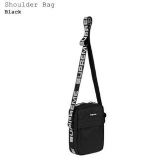 シュプリーム(Supreme)のSupreme 18ss Shoulder Bag 黒 ショルダーバッグ(ショルダーバッグ)