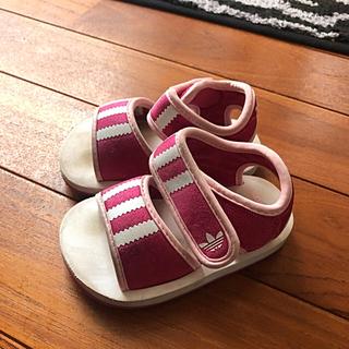 アディダス(adidas)のアディダス14cm(サンダル)
