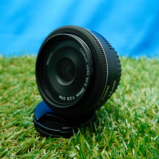 Canon - 美品 レンズフィルター付Canon EF-S 24mm f2.8 STM