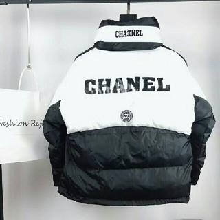 シャネル(CHANEL)のCHANEL シャネル ダウンジャケット  L(ダウンジャケット)