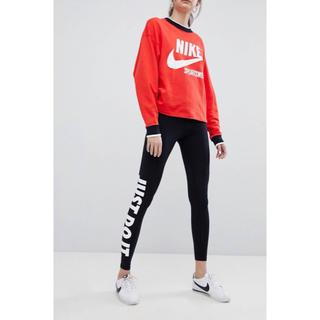 ナイキ(NIKE)の【Mサイズ 】新品タグ付き Nike JUST DO IT レギンス ブラック(レギンス/スパッツ)