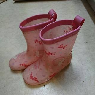 ミニーマウス 長靴 17(長靴/レインシューズ)