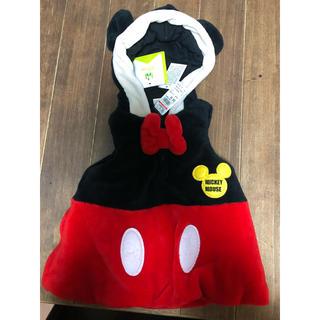 ディズニー(Disney)の新品 タグ付き ミッキー アウター こども(ジャケット/上着)