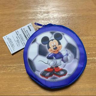 ディズニー(Disney)の《新品未使用》ディズニーキャラクター たためる丸型保冷バッグ(その他)