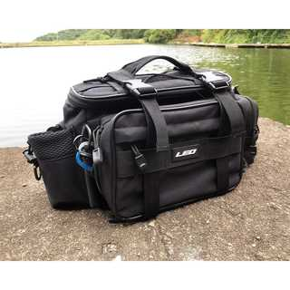 【今だけ価格】釣りバッグ フィッシングバッグ 大容量 黒