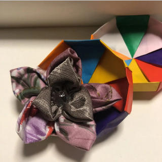 [ハンドメイド]お花のブローチ(コサージュ/ブローチ)