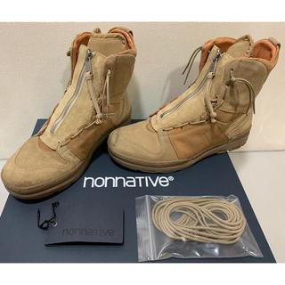 ノンネイティブ(nonnative)のnonnative  TROOPER BOOTS COW SUEDE 26.5(ブーツ)