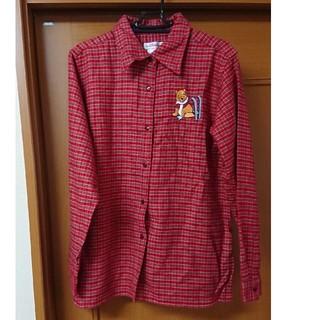 ディズニー(Disney)のディズニーストア  プーさんシャツ(シャツ/ブラウス(長袖/七分))