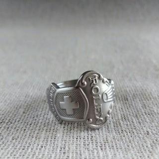 ロレックス(ROLEX)のスプーンリング(リング(指輪))